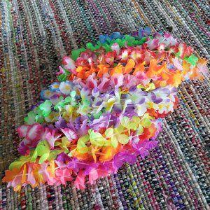 3/$10🖤 NEW 24 Hawaiian Leis - Luau Party Favors